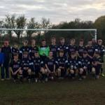 Llandudno Junction U16 Snrs NWCFA Champions